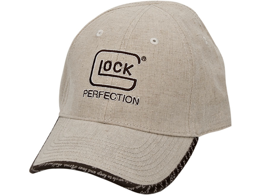 Glock 2nd Amendment Logo Cap Perfection Polyester Khaki