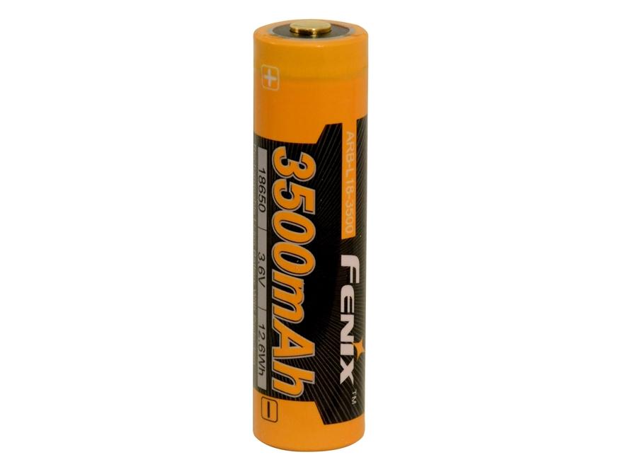 Fenix Rechargeable Battery 18650 3.6 Volt Lithium 3500 mAH