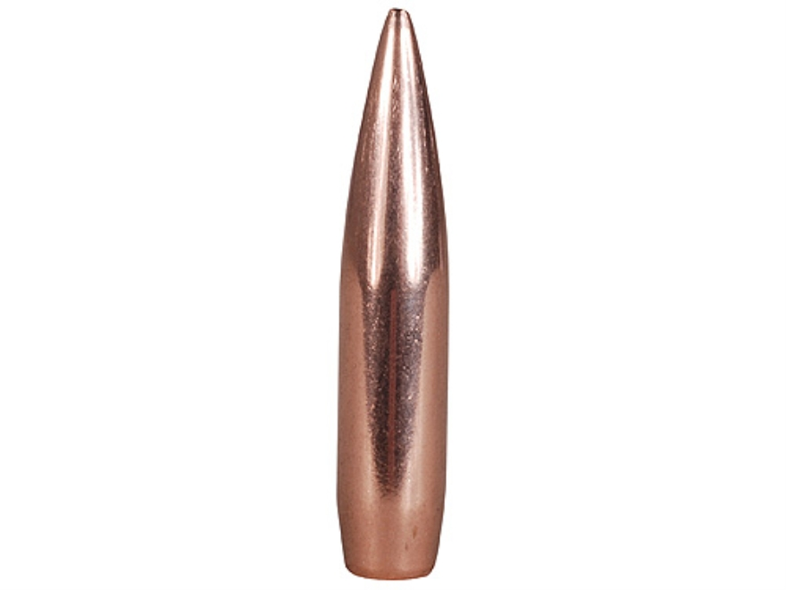 Hornady Match Bullets 30 Caliber (308 Diameter) 225 Grain Hollow Point Boat Tail Box of...