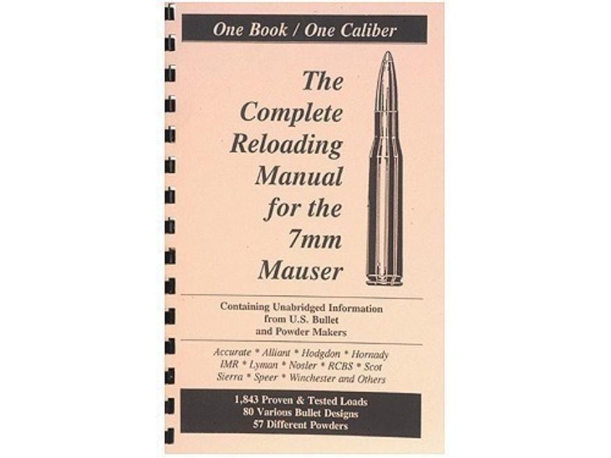 "Loadbooks USA ""7x57mm Mauser (7mm Mauser)"" Reloading Manual"