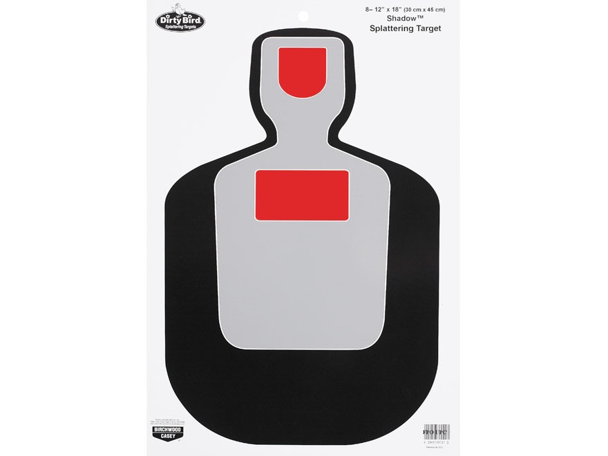 "Birchwood Casey Dirty Bird BC19 12"" x 18"" Targets Pack of 8"
