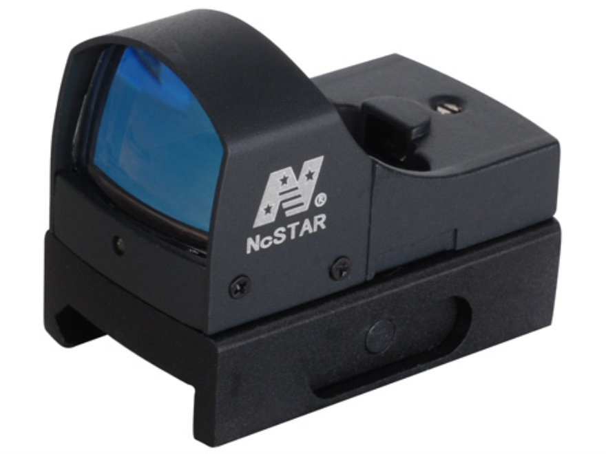 NcStar Tactical Micro Reflex Sight 2 MOA Green Dot Matte with Automatic Brightness and ...