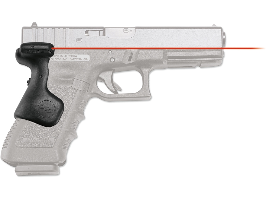 Crimson Trace Lasergrips Glock Gen-3 17, 17L, 22, 31, 34, 35 Rear Activation with Maste...