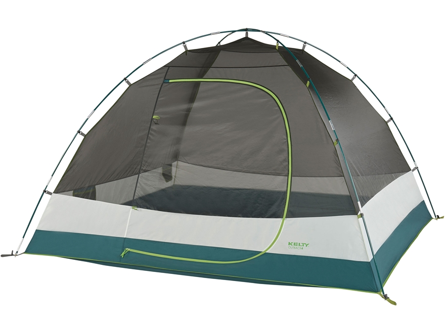 """Kelty Outback 4 Person Dome Tent 96"""" x 85"""" x 59"""" Polyester Gray"""