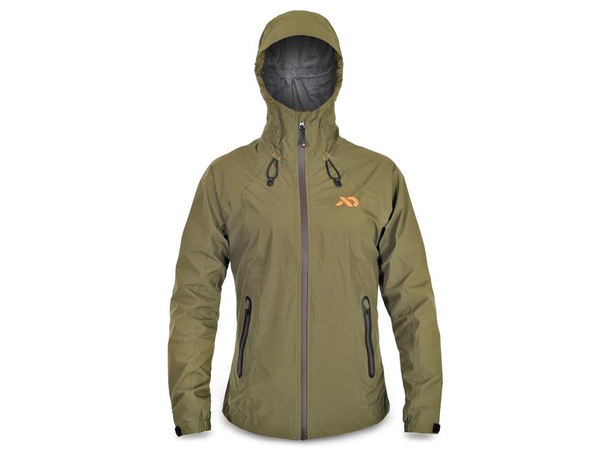 First Lite Women's Cascade Stormlight Rain Jacket Synthetic Blend