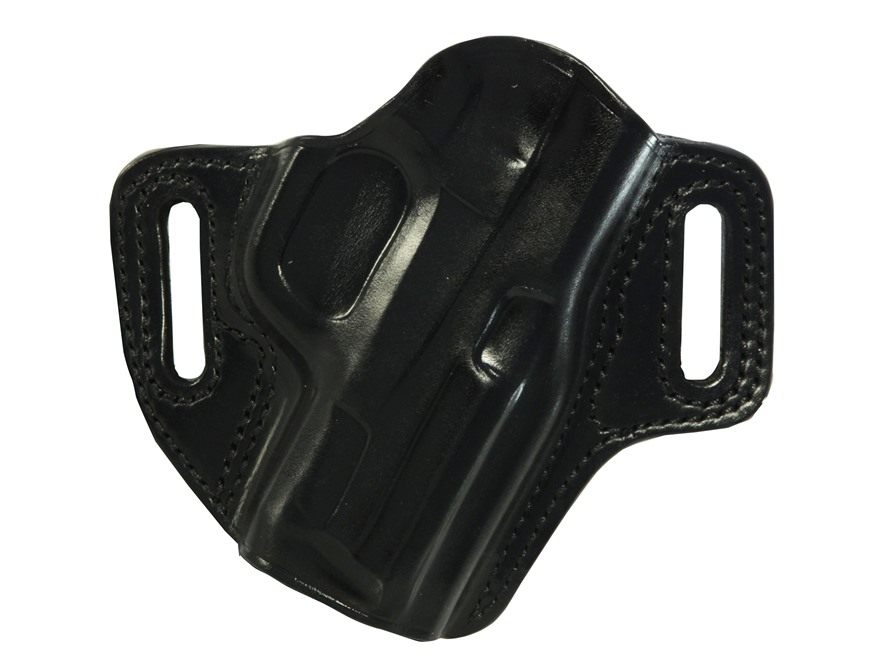 Galco Concealable Belt Holster Right Hand S&W M&P Compact 9, 40 Leather Black