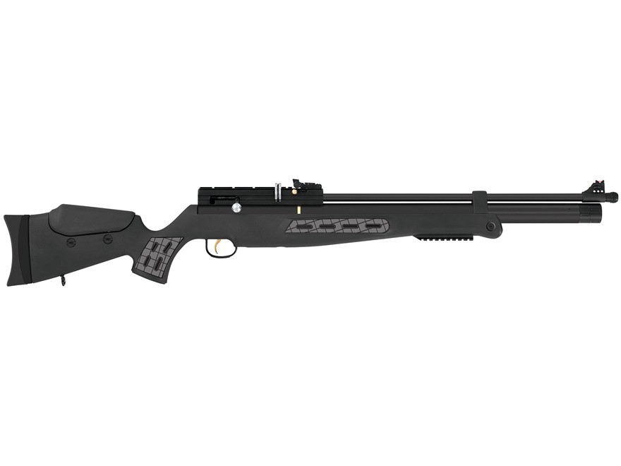 Hatsan BT65SB Pre-Charged Pneumatic Bolt Action Air Rifle Pellet Black Barrel