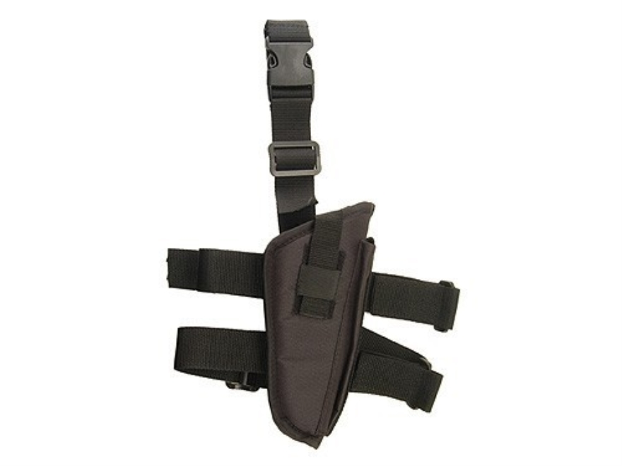 "Hunter Tactical Thigh Holster Medium through Large Frame Semi-Auto Pistols 5"" Barrel Ny..."