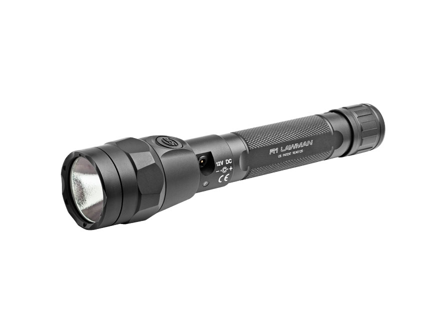 Surefire R1 Lawman with IntelliBeam Flashlight LED with Rechargeable Li-Ion Battery Alu...