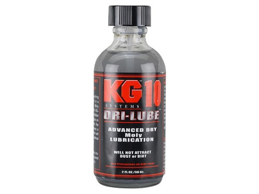 KG KG-10 Micro Moly Dry Lubricant 2 oz Bottle