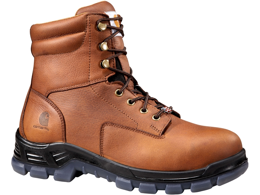 """Carhartt 8"""" Waterproof Composite Safety Toe Work Boots Leather"""