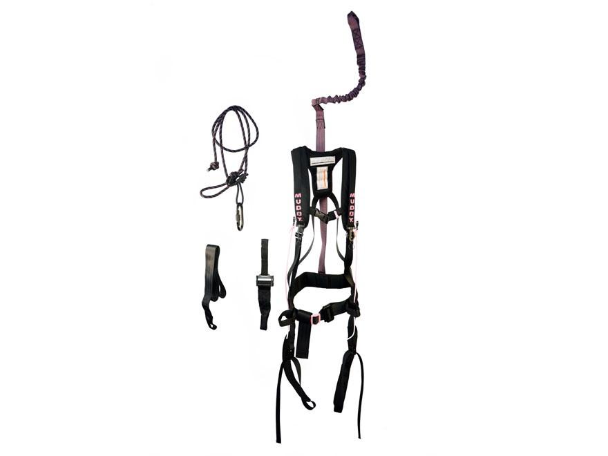 muddy outdoors women u0026 39 s safeguard treestand safety harness