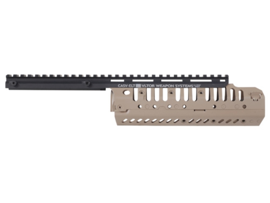Vltor CASV-ELX Free Float Modular Rail Handguard AR-15 Extended Carbine Length Aluminum...