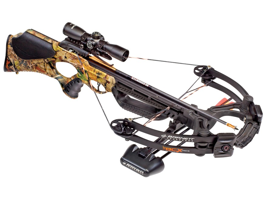 Barnett BCX Buck Commander Extreme CRT Crossbow Package with 3x 32mm Multi-Reticle Scop...