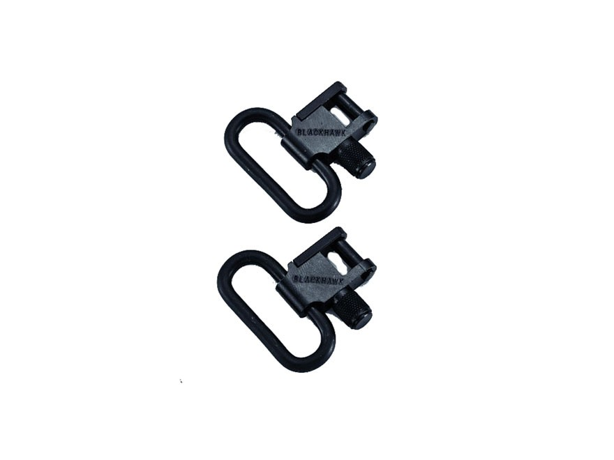 "BLACKHAWK! Lok-Down Sling Swivels 1"" Steel Blue"