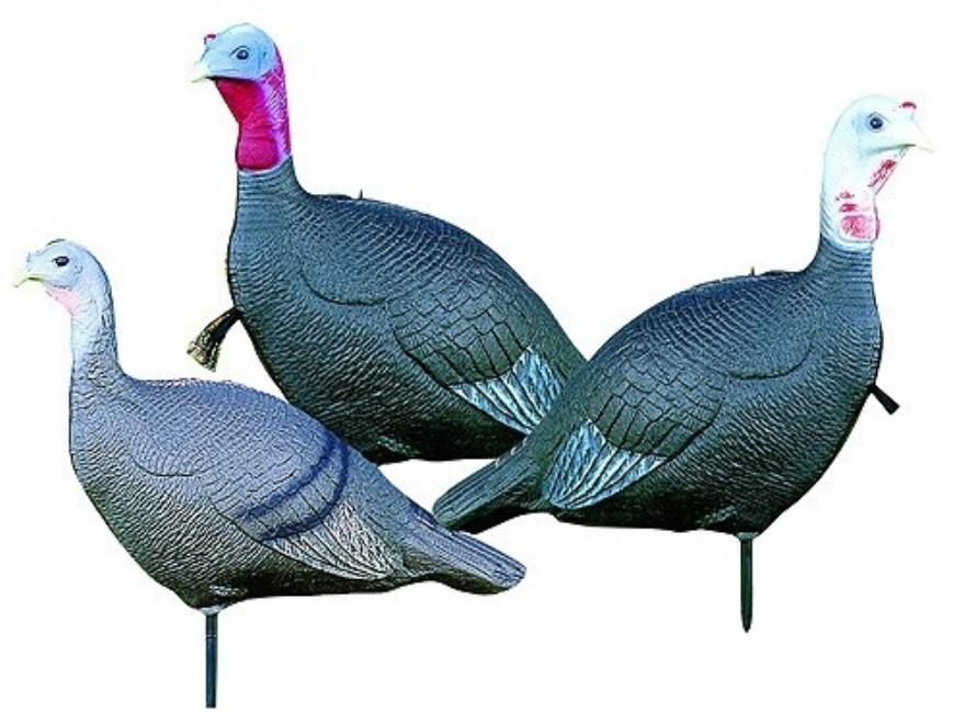 "Feather Flex ""The Love Triangle"" Turkey Decoy Set"