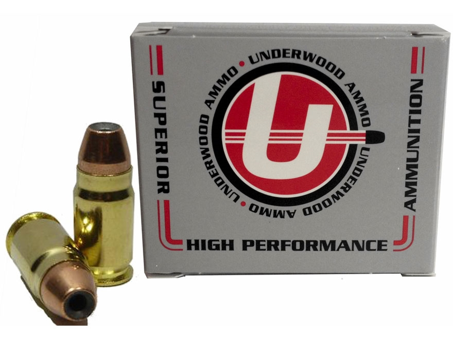 Underwood Ammunition 400 Cor-Bon 150 Grain Jacketed Hollow Point Box of 20