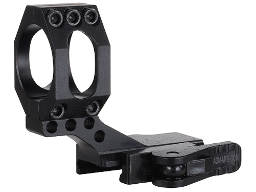 American Defense AD-68C Cantilever 30mm Quick-Release Picatinny-Style Ring Matte High