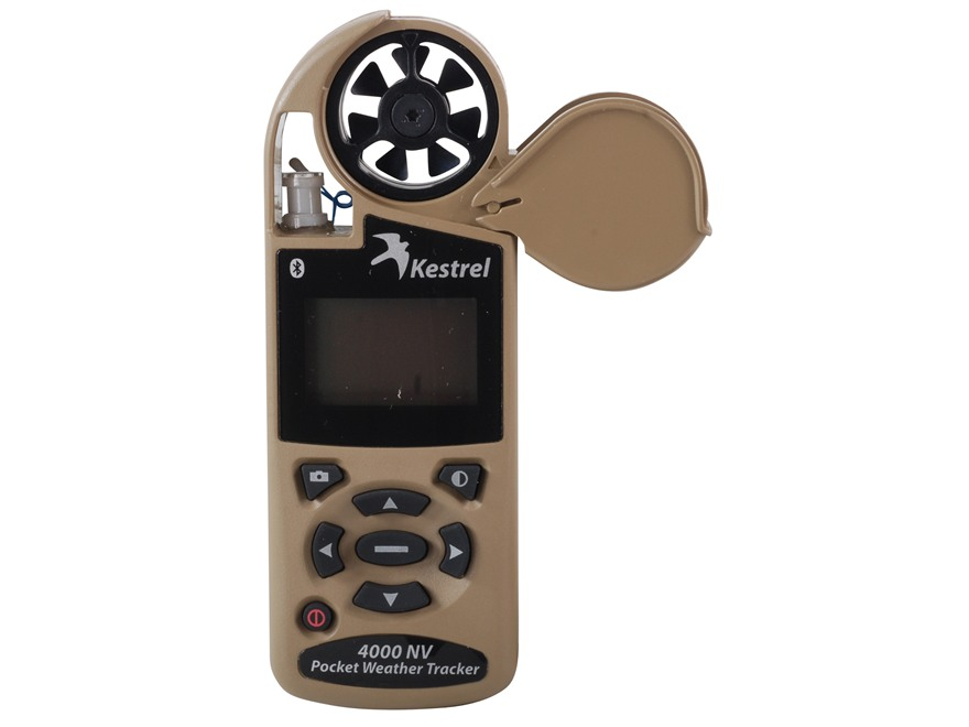 Kestrel 4000NV Electronic Hand Held Weather Meter with Bluetooth Desert Tan