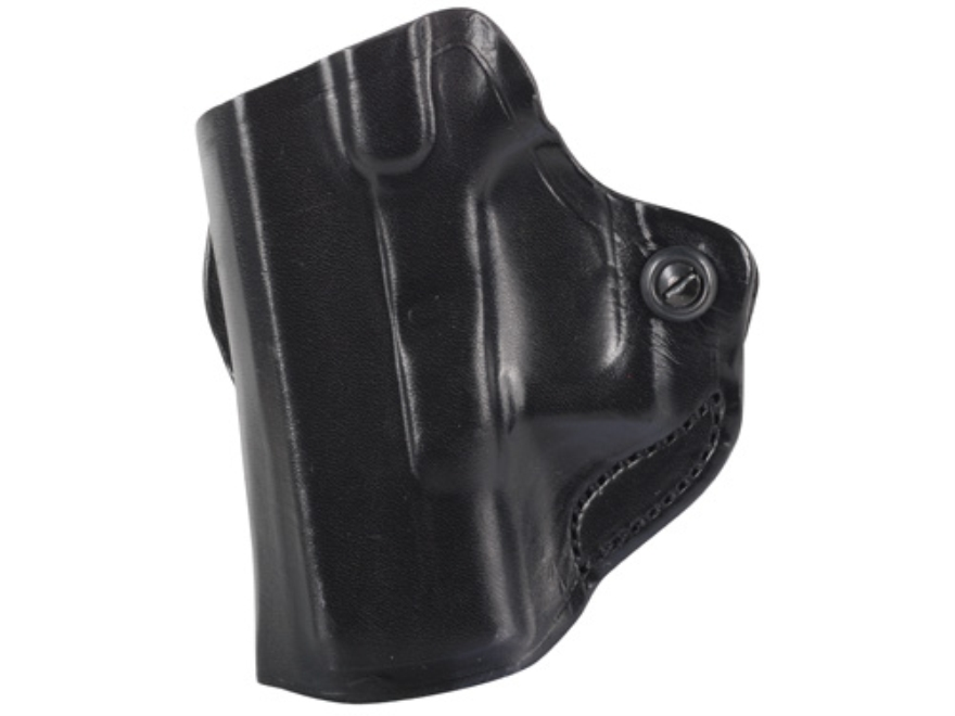 DeSantis Mini Scabbard Belt Holster Glock 26, 27, 33 Leather