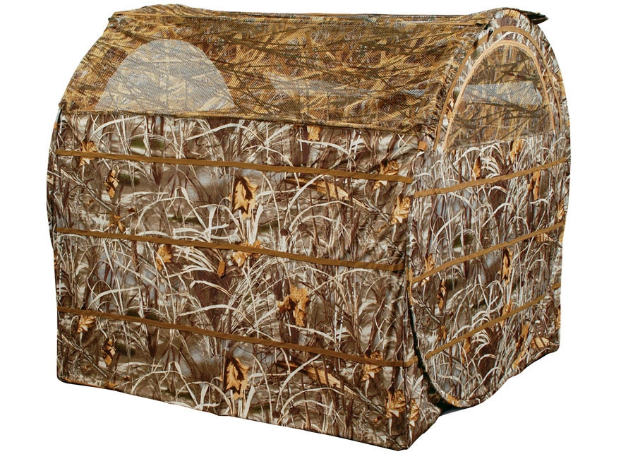 Ameristep Duck Commander Bale Out Ground Blind Polyester Realtree Max-5 Camo- Blemished
