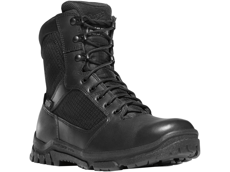"Danner Lookout 8"" Waterproof Side-Zip Tactical Boots Leather/Nylon Men's"