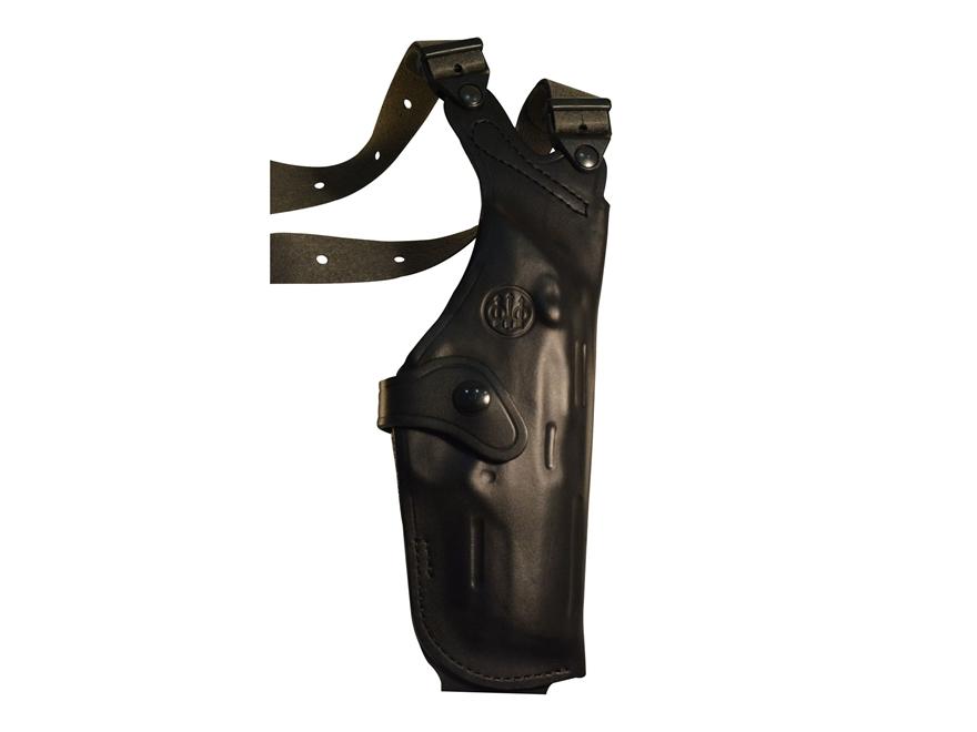 Beretta Mod. H Vertical Shoulder Holster PX4 Storm Full Size Leather Black