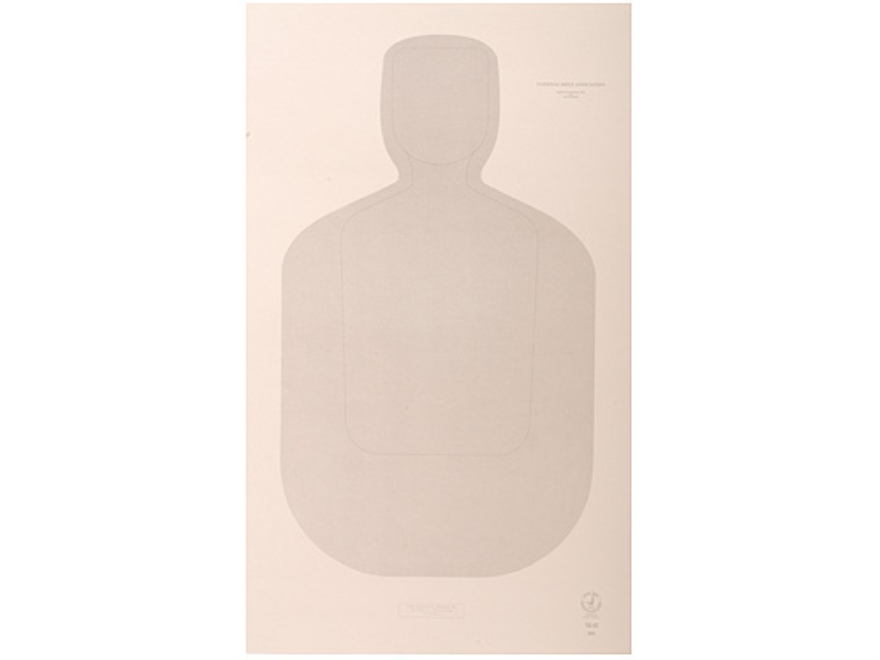 "NRA Official Training and Qualification Targets Law Enforcement TQ-22 12"" x 20"" Paper P..."