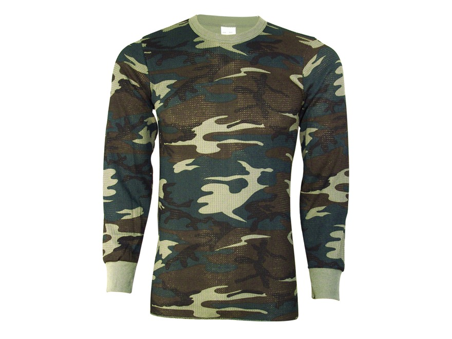 Indera Men's Long Sleeve Thermal Shirt