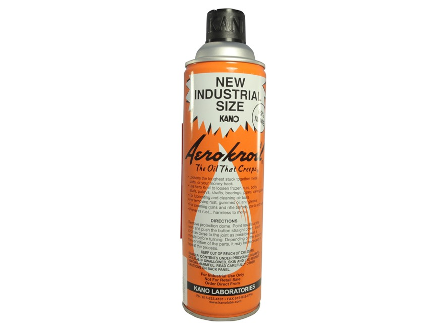Kano Aerokroil Penetrating Oil and Bore Cleaning Solvent Aerosol