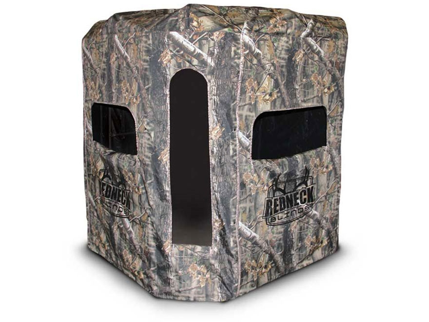 Redneck Blinds Soft Side Camo 360 6x6 6' Elevated Box Blind