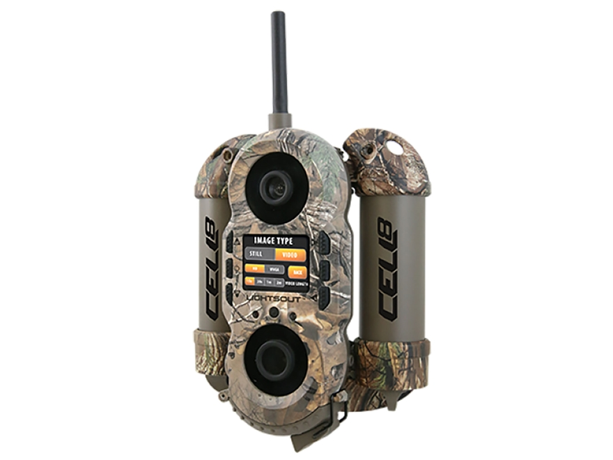 Wildgame Innovations Cell 8 Cellular Infrared Game Camera 8 Megapixel Realtree Xtra Camo
