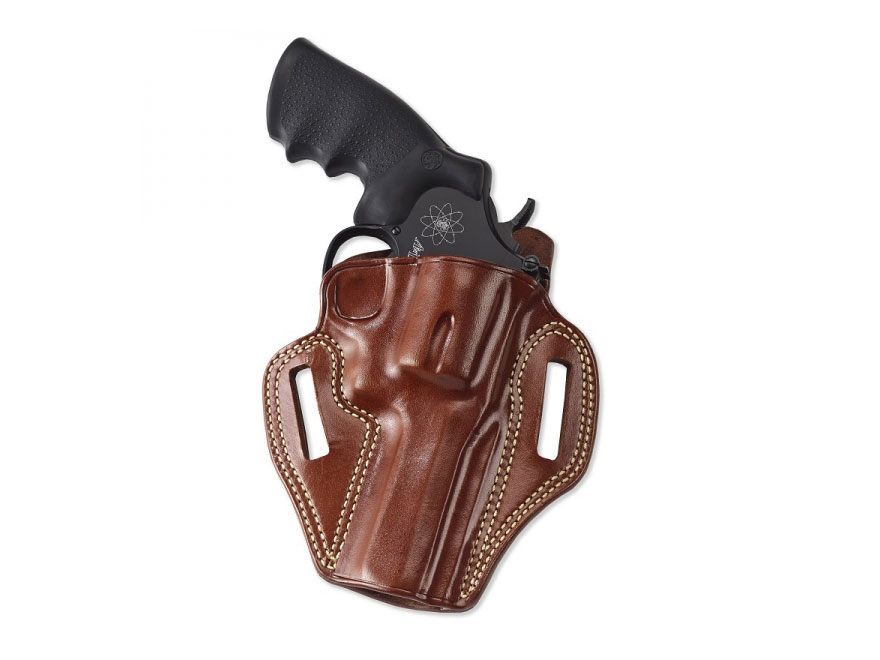 "Galco Combat Master Belt Holster Right Hand S&W 686, L-Frame 2-1/2"" Barrel Leather"