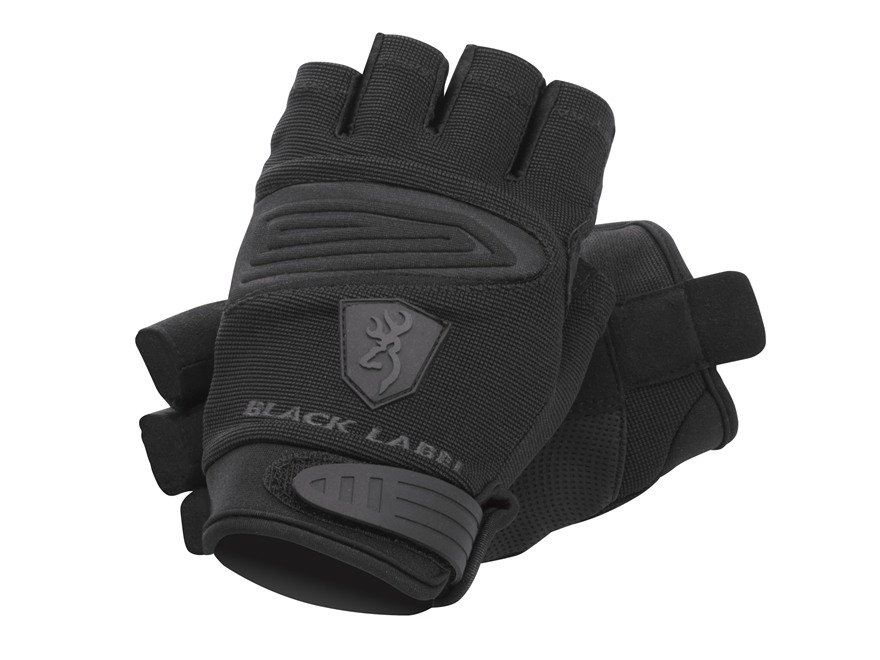 Browning Black Label HollowPoint Fingerless Gloves Polyester Black