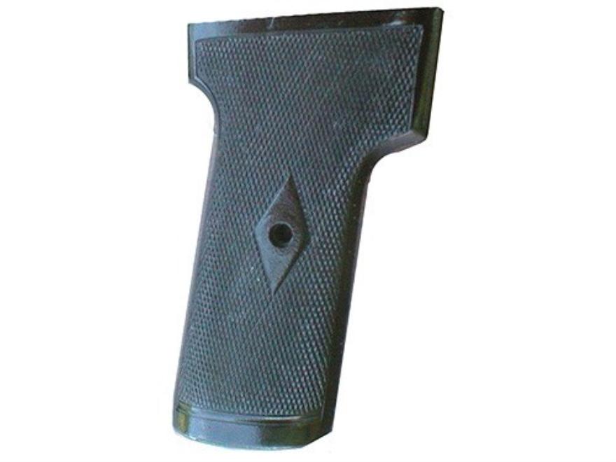 Vintage Gun Grips Webley 1909 with Escutcheon 9mm Caliber Polymer Black