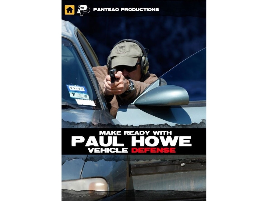 "Panteao ""Make Ready with Paul Howe: Vehicle Defense"" DVD"