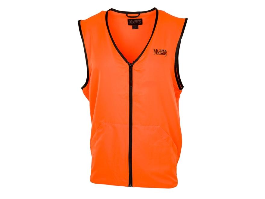 MidwayUSA Blaze Orange Vest