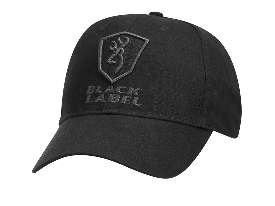Browning Black Label Delta Tactical Patrol Cap Polyester Ripstop Black