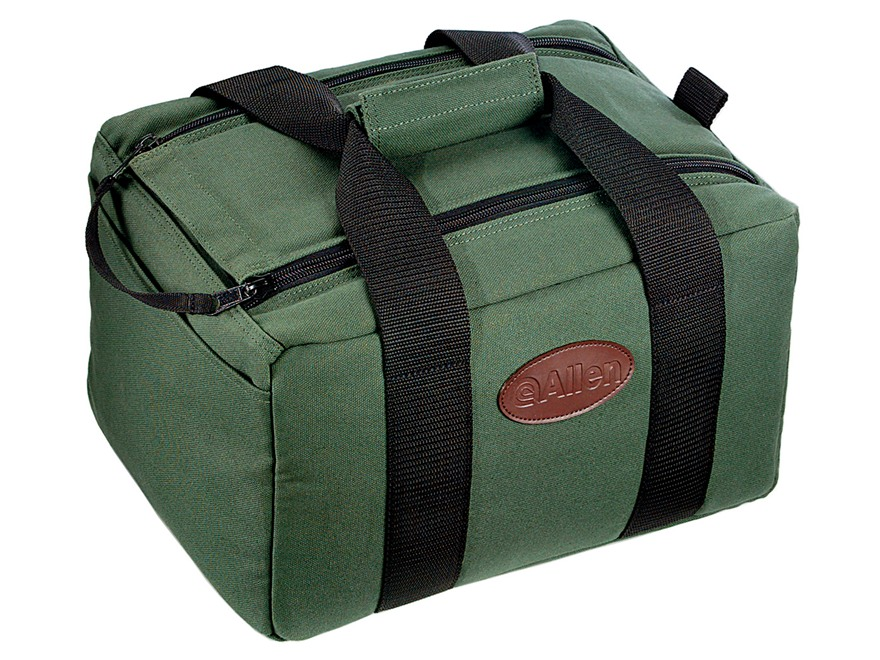 Allen Canvas Shooter's Carry-All Bag Canvas Green
