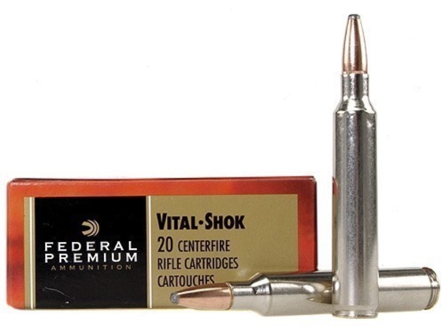 Federal Premium Vital-Shok Ammunition 300 Remington Ultra Magnum 200 Grain Nosler Parti...
