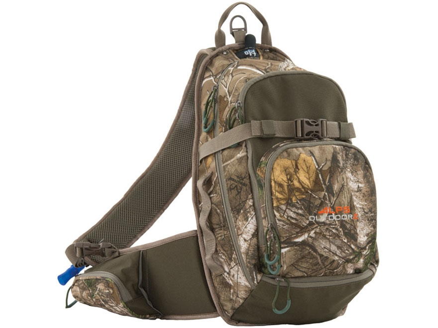 ALPS Outdoorz Quickdraw Sling Backpack Polyester Realtree Xtra Camo