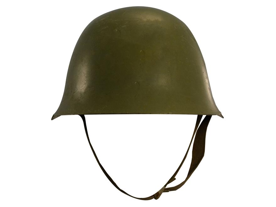 Military Surplus Serbian Helmet Grade 2 Steel Olive Drab