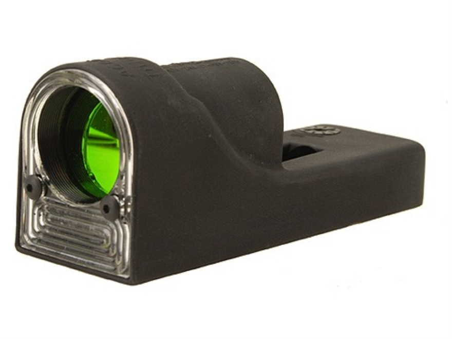 Trijicon RX01 Reflex Sight 1x 24mm 6.5 MOA Dual-Illuminated Amber Dot Matte without Mou...