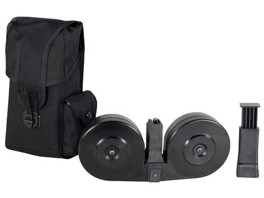 Beta Magazine System AR-15 9mm Luger 100-Round Drum Polymer Black