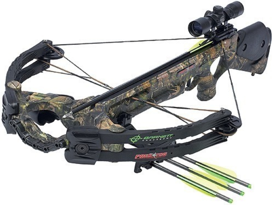 Barnett Predator CarbonLite 375 CRT Crossbow Package with 3x 32mm Illuminated Multi-Ret...