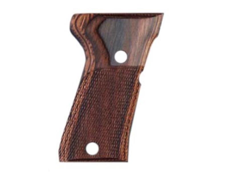 Hogue Fancy Hardwood Grips Beretta 92FS Compact Checkered
