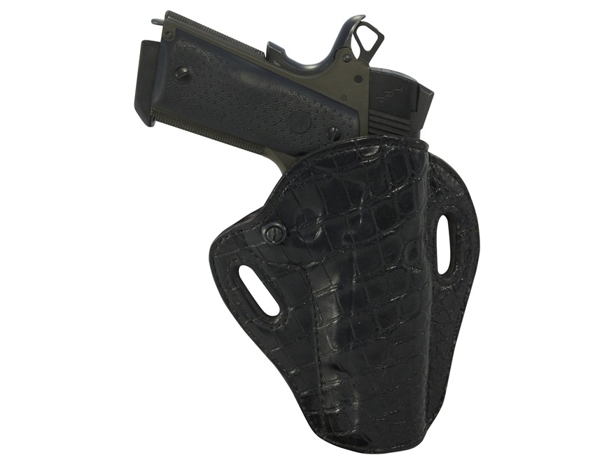El Paso Saddlery Exotic Crosshair Outside the Waistband Holster Right Hand 1911 Governm...