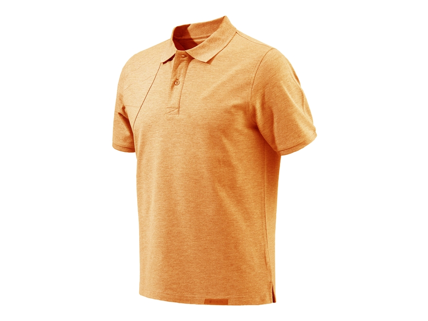 Beretta Men's Corporate Patch Polo Shirt Short Sleeve Cotton