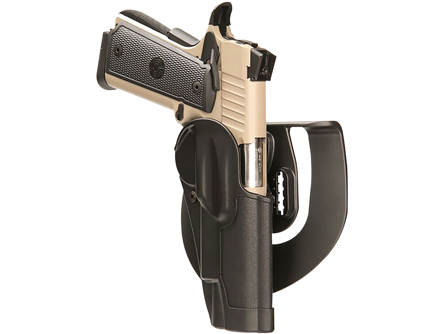 BLACKHAWK! Standard CQC Paddle Holster Right Hand 1911 Government with or without Rail ...