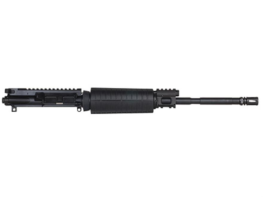 CMMG AR-15 M4 LEP II A3 Flat-Top Gas Piston Upper Assembly 6.8mm Remington SPC II 1 in ...